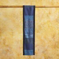 Vintage Scarves - Vintage Blue Kimono Scarf