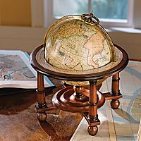 Reproduction 16th Century Mercator Globe