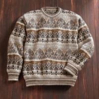 Tapestry Sweater - Peruvian Tapestry Sweater