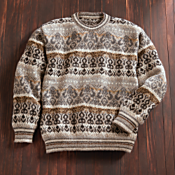 Peruvian Tapestry Sweater
