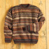 Alpaca Sweater - Alpaca Tiwanaku Sweater