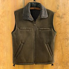 Imported Men's Microsuede Travel Vest