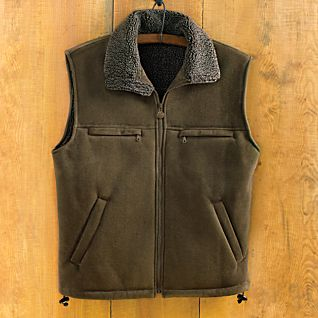 Men's Microsuede Travel Vest