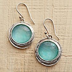 Roman Glass Earings