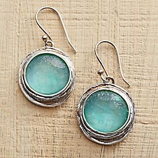 View Roman Glass Earrings image