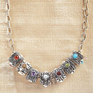 Adjustable 18'' Link Chain for Birthstones-Old