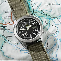 Mens Traveler Watch