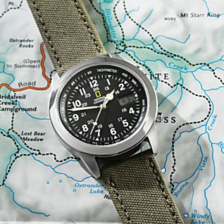 View National Geographic Atomic Field Watch image