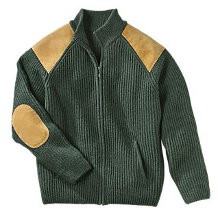 Irish Wool Military Cardigan