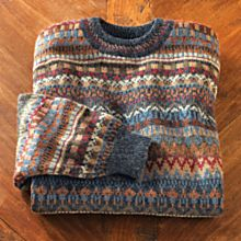 Men's Tiwanaku Textiles Alpaca Sweater
