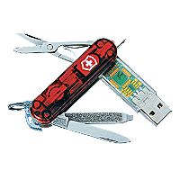 Swiss Army Multitool with USB Drive