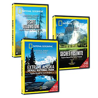 National Parks 3 DVD Set