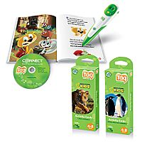 Leapfrog Tag Reading System with Nat Geo Flash Cards