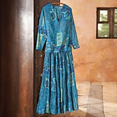 100% Cotton Jaipur Blue Tunic