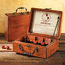Shut the Box Game, Ages 8 and Up