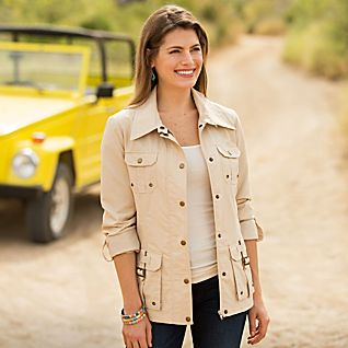 View Women's Safari Jacket image