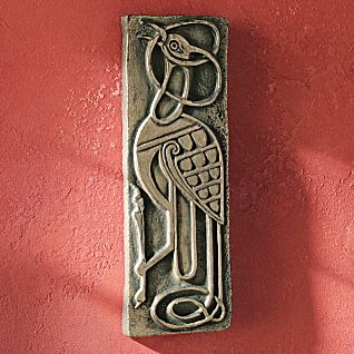 Book of Kells Bronzed Plaque