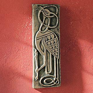 Book of Kells Bronzed Plaque