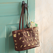 Handcrafted Paraguayan Leather Tote
