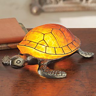 View Art Nouveau-inspired Tortoise Lamp image