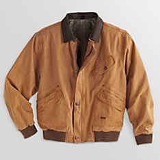 Imported Men's Outback Canvas Jacket