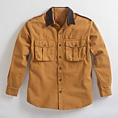 Imported Explorer's Rugged Canvas Shirt