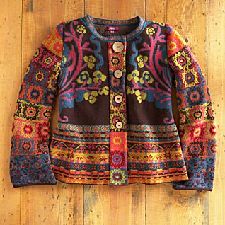 Serbian Patchwork Patterned Jacket