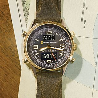 National Geographic Aviator Watch