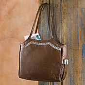La Paz Leather Travel Tote