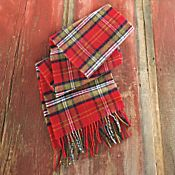 Scottish Burns Tartan Scarf