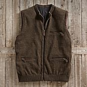 Scottish Wool Travel Vest - Get Details