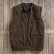 Scottish Wool Travel Vest - Get Details