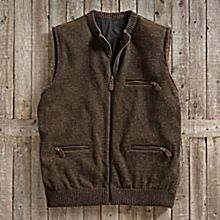 Men's Scottish Wool Travel Vest