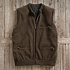 Travel Wool Vest Men