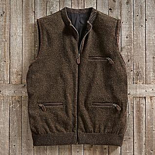 View Scottish Wool Travel Vest image