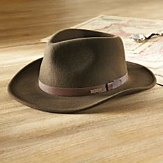 Crushable Felt Travel Hat