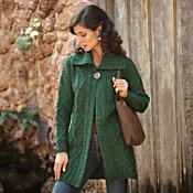 Irish Sweater Jacket