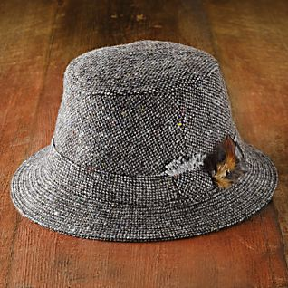 Irish Donegal Tweed Walking Hat