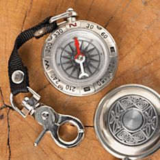 Traditional Irish Pewter Compass