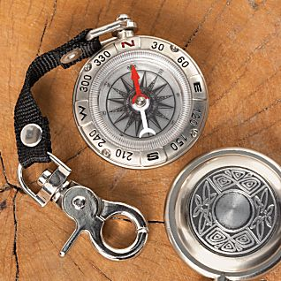 Irish Pewter Compass