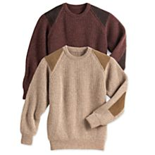Scottish Wool Walking Sweater
