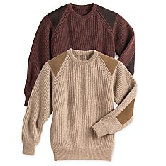 Men's Scottish Wool Walking Sweater
