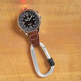 National Geographic Aviator Clip Watch