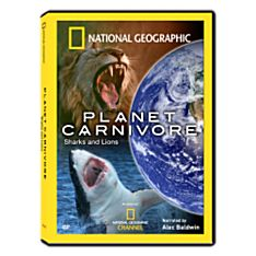 Planet Carnivore - Sharks and Lions DVD, 2007