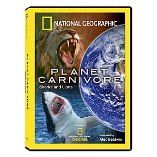 View Planet Carnivore - Sharks and Lions DVD image