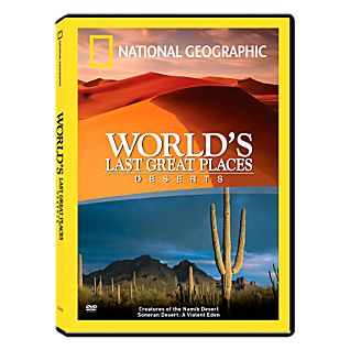 View World's Last Great Places Deserts DVD image