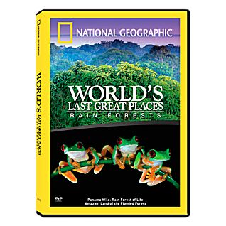 View World's Last Great Places Rainforests DVD image