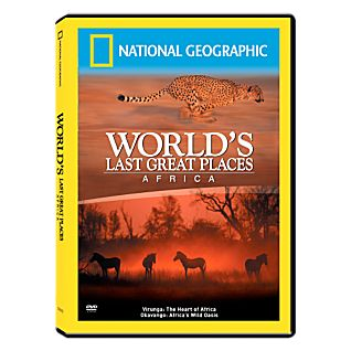 View World's Last Great Places Africa Inland DVD image