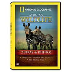 Africa's Wildlife Collection Zebras and Rhinos DVD