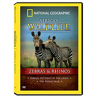 View Africa's Wildlife Collection Zebras and Rhinos DVD image